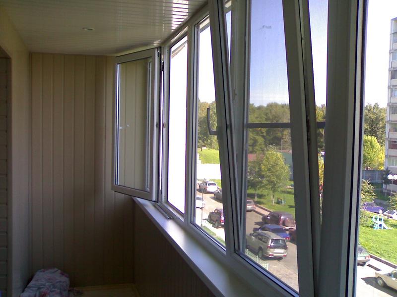 Монтаж стеклопакетов, остекления балконов и лоджий в москве .