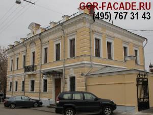 окраска фасадов зданий