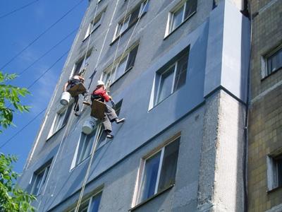 покраска фасадов зданий