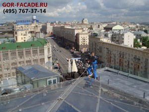 кровельные работы в Москве