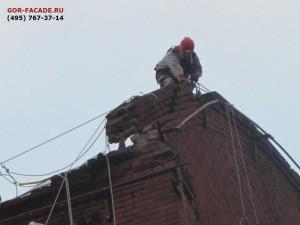 фасадные ремонтные работы