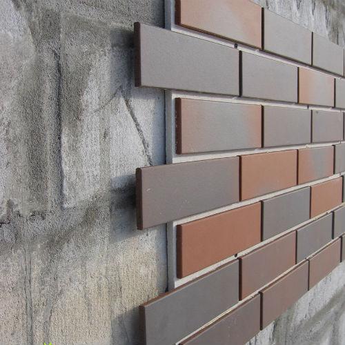 технология облицовки фасада