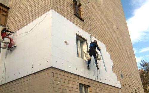 требуется ремонт фасада