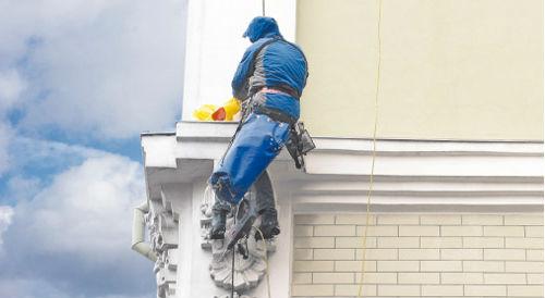 восстановление фасада здания
