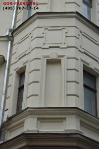 И так велась работа практически над всем фасадом
