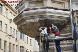 Работают художники-реставраторы